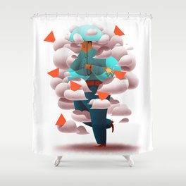 Indifference Shower Curtain