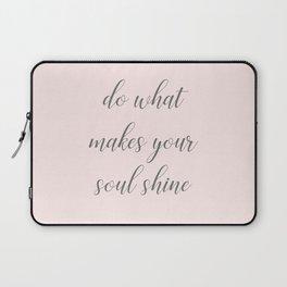 Soul Shine Laptop Sleeve