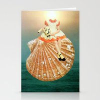 seashell Stationery Cards featuring Seashell by Tyler Varsell