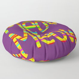 Meow Meow (in color) Floor Pillow