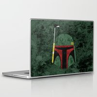 boba fett Laptop & iPad Skins featuring Boba Fett by Some_Designs