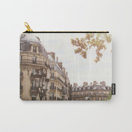 Paris Architectural Street Scene Carry-All Pouch