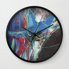 JP Was Here IX Wall Clock