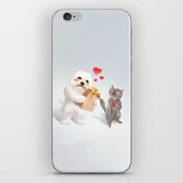 A Present For You iPhone Skin