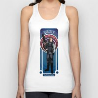 winter soldier Tank Tops featuring Bucky the Winter soldier by Studio Kawaii