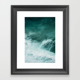 Ocean Roar Framed Art Print