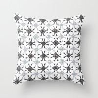 mid century modern Throw Pillows featuring Mid Century Modern #1 by Bird Junker