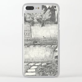 Laundry Time Clear iPhone Case
