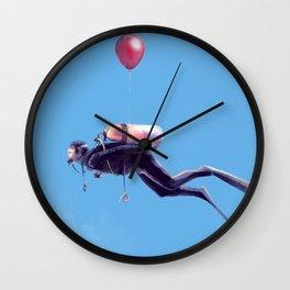 Scuba Sky Wall Clock