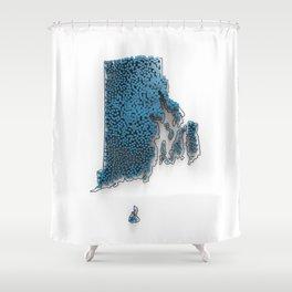 RI-PD-3D Shower Curtain