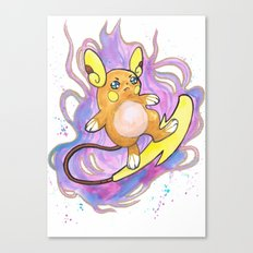 Psychic Surf Canvas Print