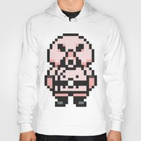 earthbound Hoodies featuring Pigmask - Mother 3 / Earthbound 2 by Studio Momo╰༼ ಠ益ಠ ༽