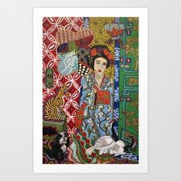Ukiyoe-Me Art Print