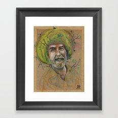 HAPPY TREES Framed Art Print