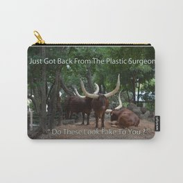 Steer Meme Carry-All Pouch