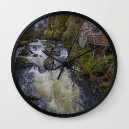 Little House On The River Wall Clock
