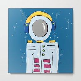 Astronauta Metal Print