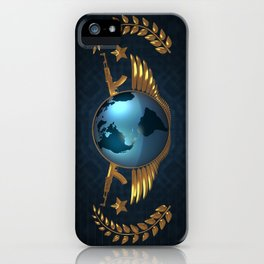 CS GO The Global Elite (Simple/Background) iPhone Case