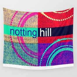 Notting Hill love Wall Tapestry