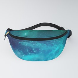 Blue And Green Planetary Nebula Fanny Pack