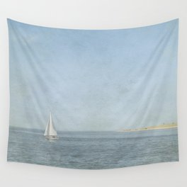 Sunday Sail  - Cape Cod Wall Tapestry