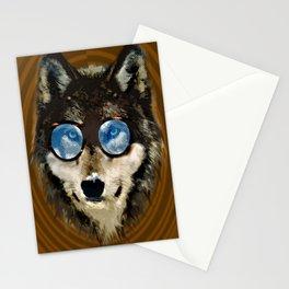 Nerd Wolf Stationery Cards