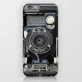 Vintage Autographic Kodak Jr. Camera iPhone Case