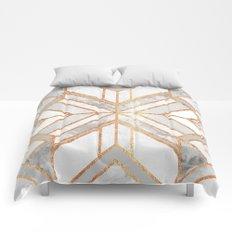 Geo Marble Dream Comforters