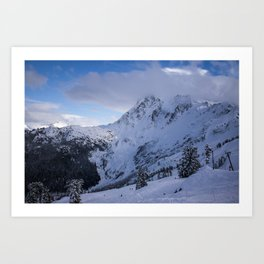Mt Baker Wilderness Art Print