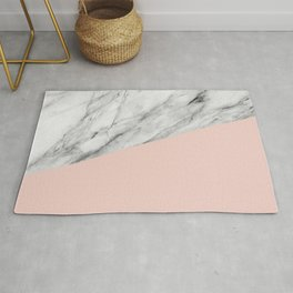 Marble and Pale Dogwood Color Rug