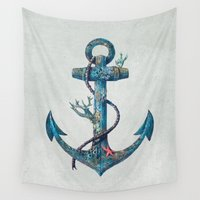 lost Wall Tapestries featuring Lost at Sea by Terry Fan
