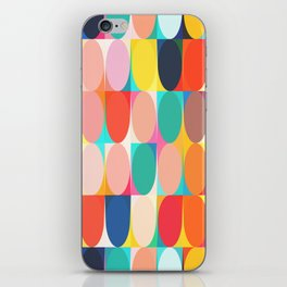 Colourful Dots iPhone Skin