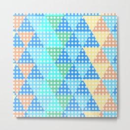 bright tesselation Metal Print