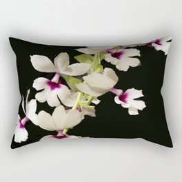 Calanthe rosea Orchid Rectangular Pillow