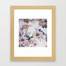 FLORAL PATTERN31 Framed Art Print