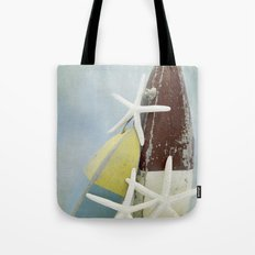 Buoys and Starfish Tote Bag