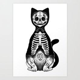 Skulls & Daggers Art Print