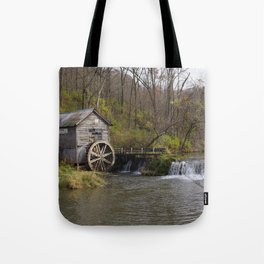 Rural Wisconsin - Hyde's Mill Tote Bag