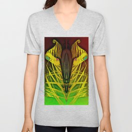 Everywhere your fate is waiting ... Unisex V-Neck