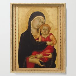 Madonna And Child 1326 Serving Tray