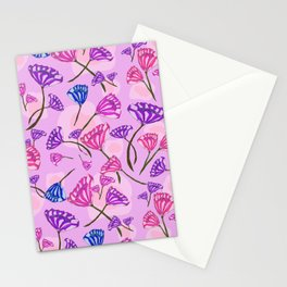 Diamond Florals Stationery Cards