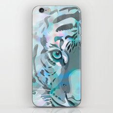 Blue Tiger iPhone & iPod Skin
