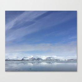 Fluid Nature - Big Skies - Landscape Photography Canvas Print