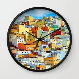 Las Palmas de Gran Canaria, Spain Wall Clock