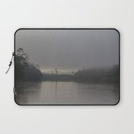 Sunrise at Kinabatangan river Laptop Sleeve