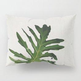 Woman with a banana leaf Pillow Sham