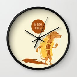 No more jokes! Wall Clock