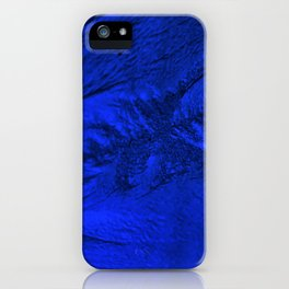 Blue frost iPhone Case