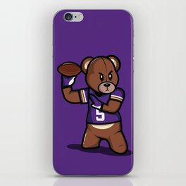 The Victrs - Teddy Football iPhone Skin