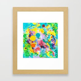 """Joyous Spirit"" Framed Art Print"